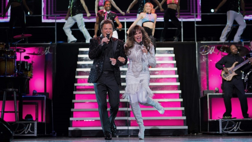 Donnie and Marie Osmond in Las Vegas