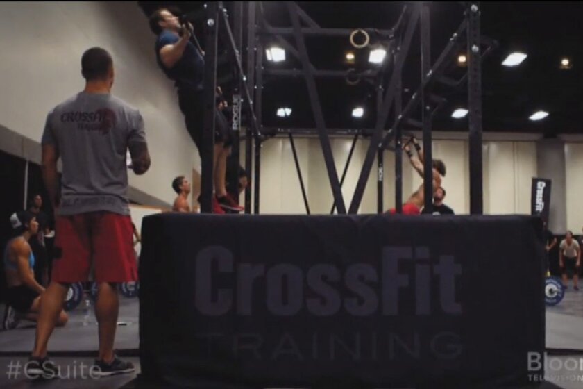 """Bloomberg's new show, """"C-Suite with Jeffrey Hayzlett,"""" goes behind the scenes with global fitness sensation CrossFit."""