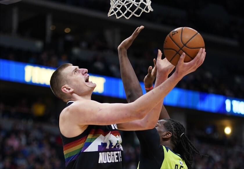Timberwolves Nuggets Basketball