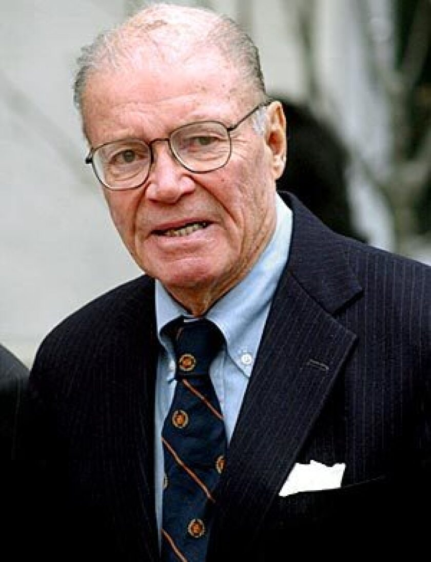 Former Defense Secretary Robert McNamara died at home Monday in Washington. He was 93.