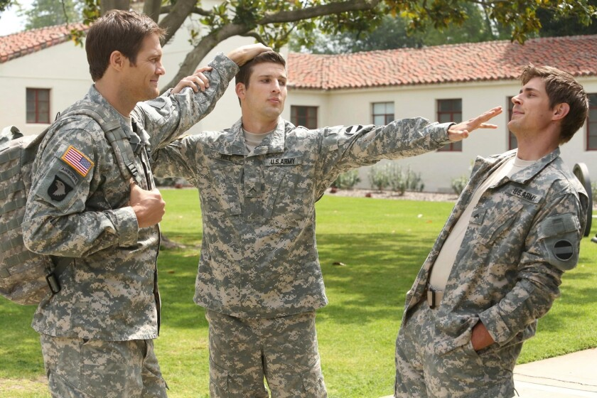 'Enlisted' knew it needed to enlist help to get military comedy right