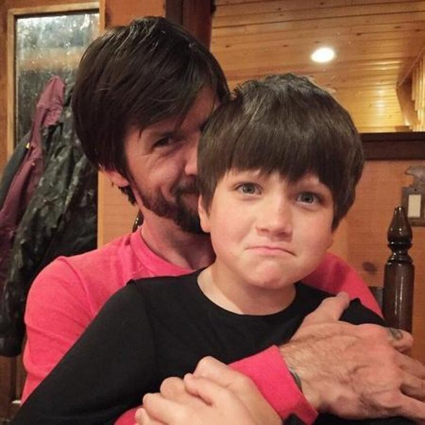 Chris Cole with his son Wyatt. (/ Courtesy photo)