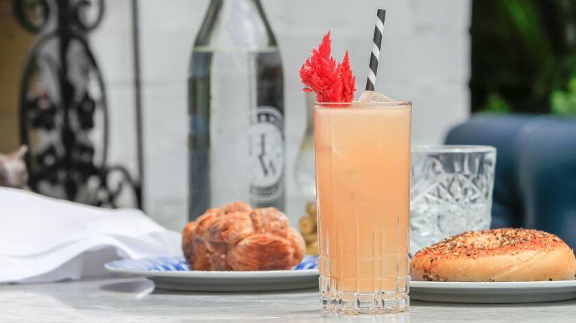 Grape & Grapefruit cocktail created by Mehgan Balser.