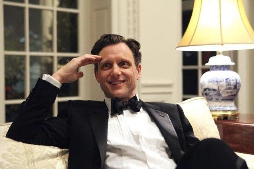 """Tony Goldwyn as President Fitzgerald Grant in a scene from """"Scandal."""""""