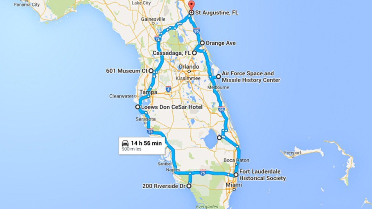 Pictures Stops On The Ultimate Terrifying Florida Road Trip