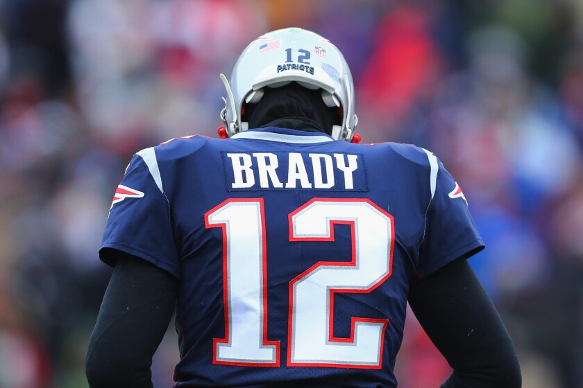 How much is a Tom Brady jersey worth? For one fan, a criminal act.