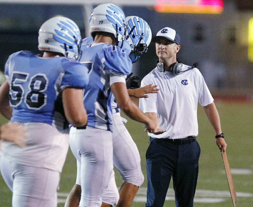 weekly football previews  crescenta valley vs  burroughs  harvard