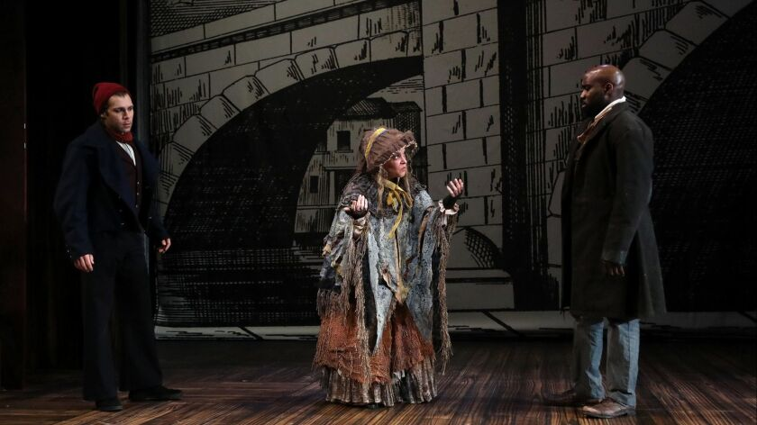 "South Coast Repertory presents ""Sweeney Todd: The Demon Barber of Fleet Street,"" music and lyric"