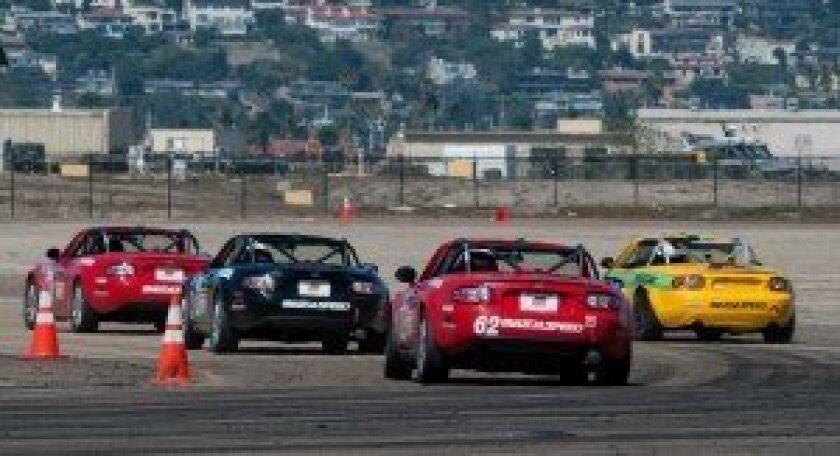 MX-5 Cup at 2013 Coronado Speed Festival