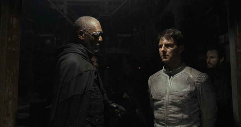 'Oblivion' cruises to top spot. U.S. movies down in China.