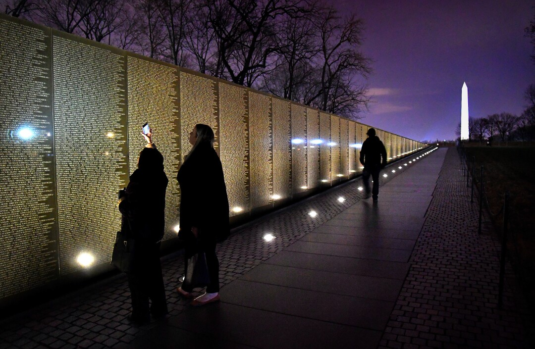 Maya Lin designed the Vietnam Veterans Memorial in Washington in 1981, when she was a 21-year-old student at Yale University.