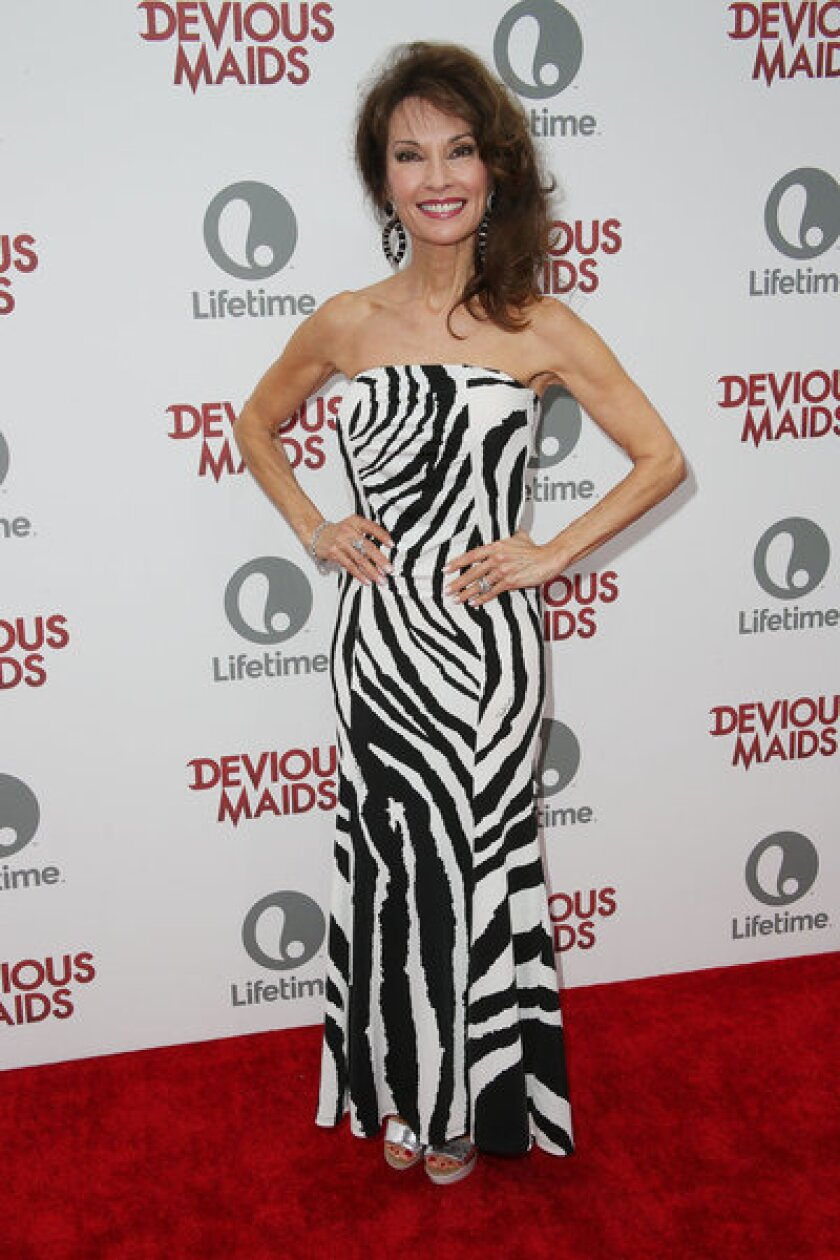 "Susan Lucci attends the premiere party of the Lifetime original series ""Devious Maids."""