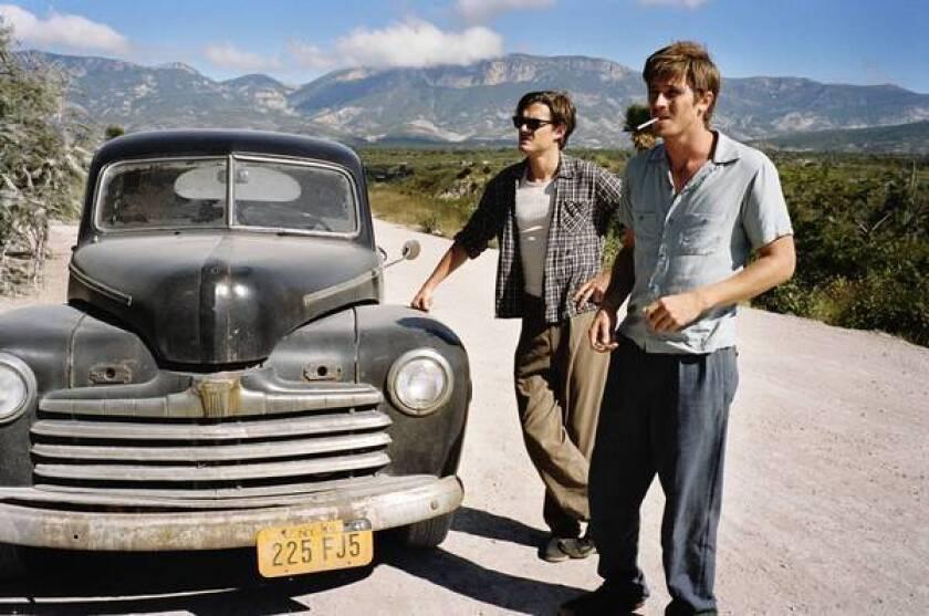 "Sam Riley and Garrett Hedlund in Walter Salles' movie ""On the Road."""