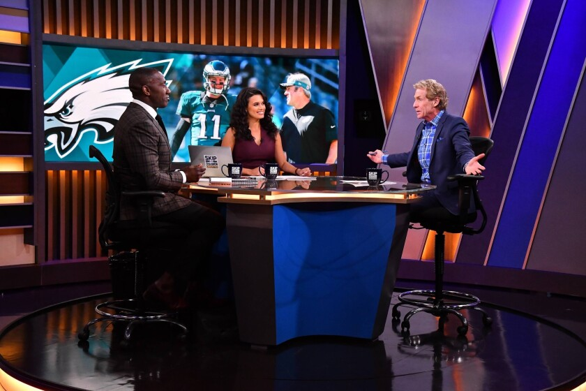 Debate Shows Are Heating Up The Rivalry Between Espn And Fox Sports Los Angeles Times