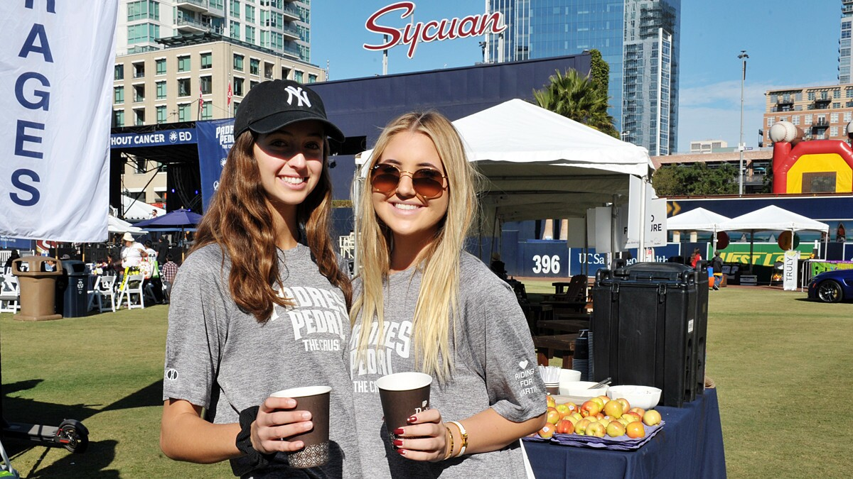 Padres Pedal the Cause