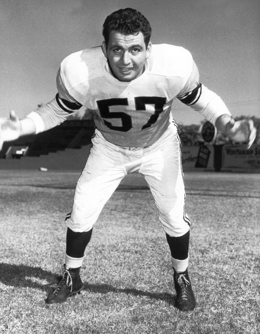Don Paul, who played for the UCLA Bruins and the Los Angeles Rams in the 1940s and '50s, has died at 89.