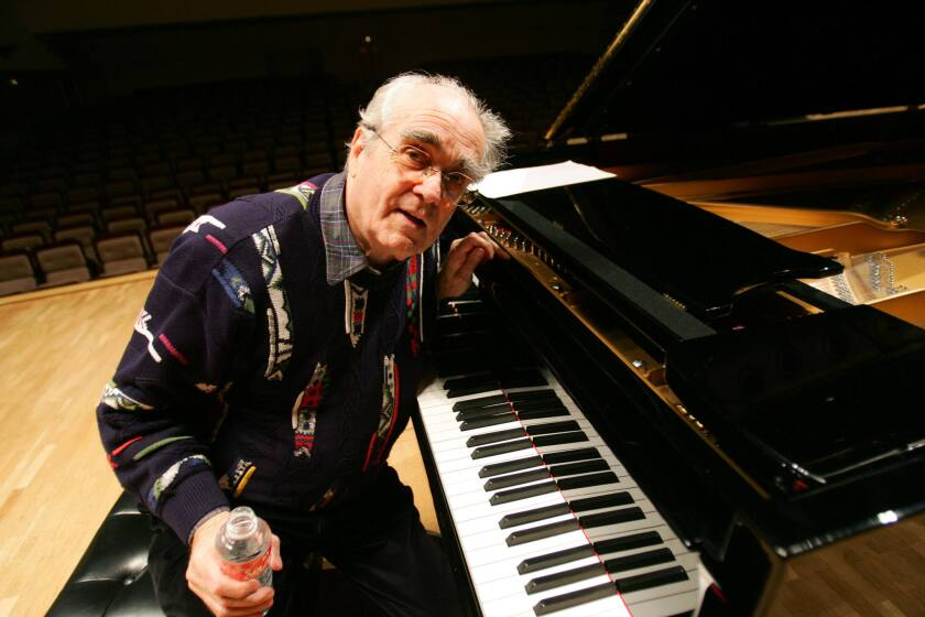 French composer and pianist Michel Legrand, pictured in 2015, died Saturday at age 86.