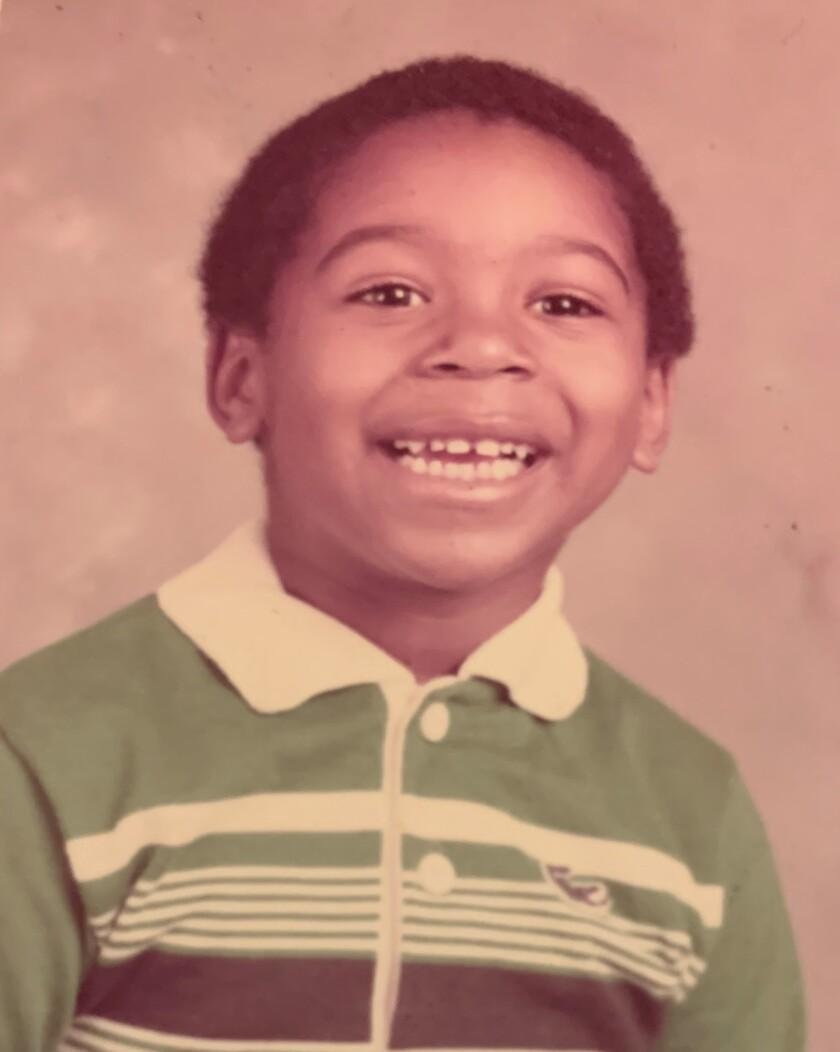 Martin Jarmond in first grade