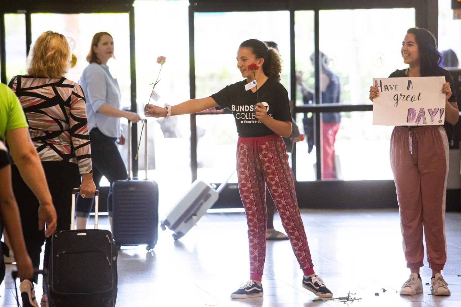 Latest destination for Blindspot Collective's innovative theater: San Diego International Airport