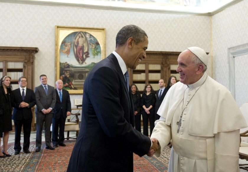 President Obama, Pope Francis