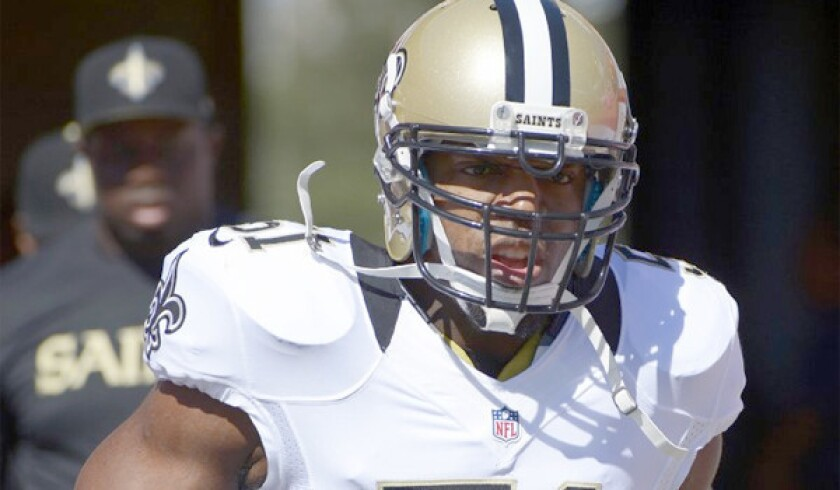 Jonathan Vilma placed on injured reserve after playing in one game