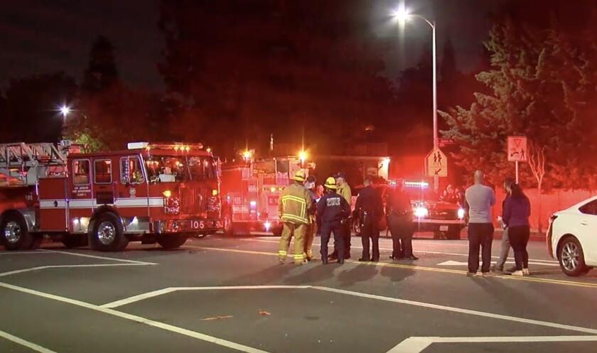 Fatal collision in West Hills