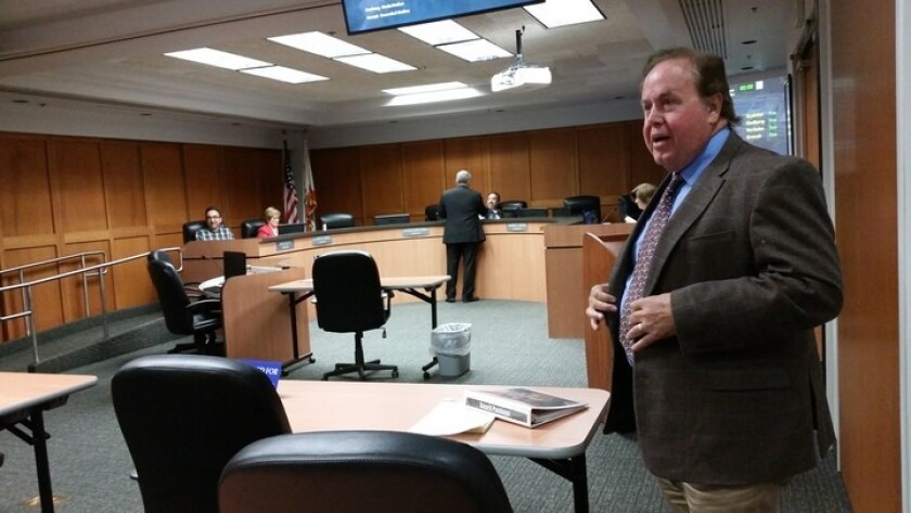 Dan McMillan was appointed on Monday as the Helix Water District Board's new representative for Division 1.
