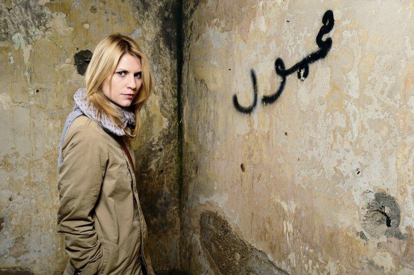 """Imagen cedida por el canal Fox de Claire Danes en su papel de Carrie Marhison en la segunda temporada de """"Homeland"""". EFE"""