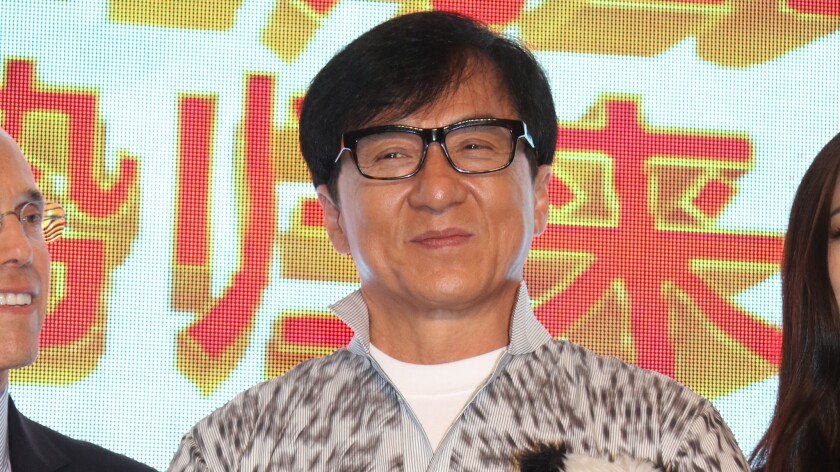 """Jackie Chan's action-comedy """"Skiptrace"""" topped the Chinese box office last week, taking in $62.8 million."""
