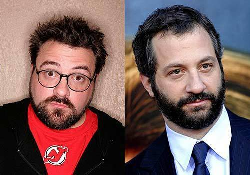 "By Patrick Kevin Day and Jevon Phillips Forget the philosophical question of which came first, the chicken or the egg. For movie geeks, the great point of debate this fall may be when it comes to filmmakers Kevin Smith and Judd Apatow, who influenced whom? Simple chronology shows us that as a major filmmaking force, Smith was on the scene first with his breakout movie, ""Clerks,"" in 1994. And Apatow has stated that Smith's work did influence him. But Apatow has been credited with influencing a whole generation of screen comedy, and Smith's latest work, ""Zack and Miri Make a Porno,"" shares some themes and actors with Apatow's own filmography. A side-by-side comparison gives us some surprising results."