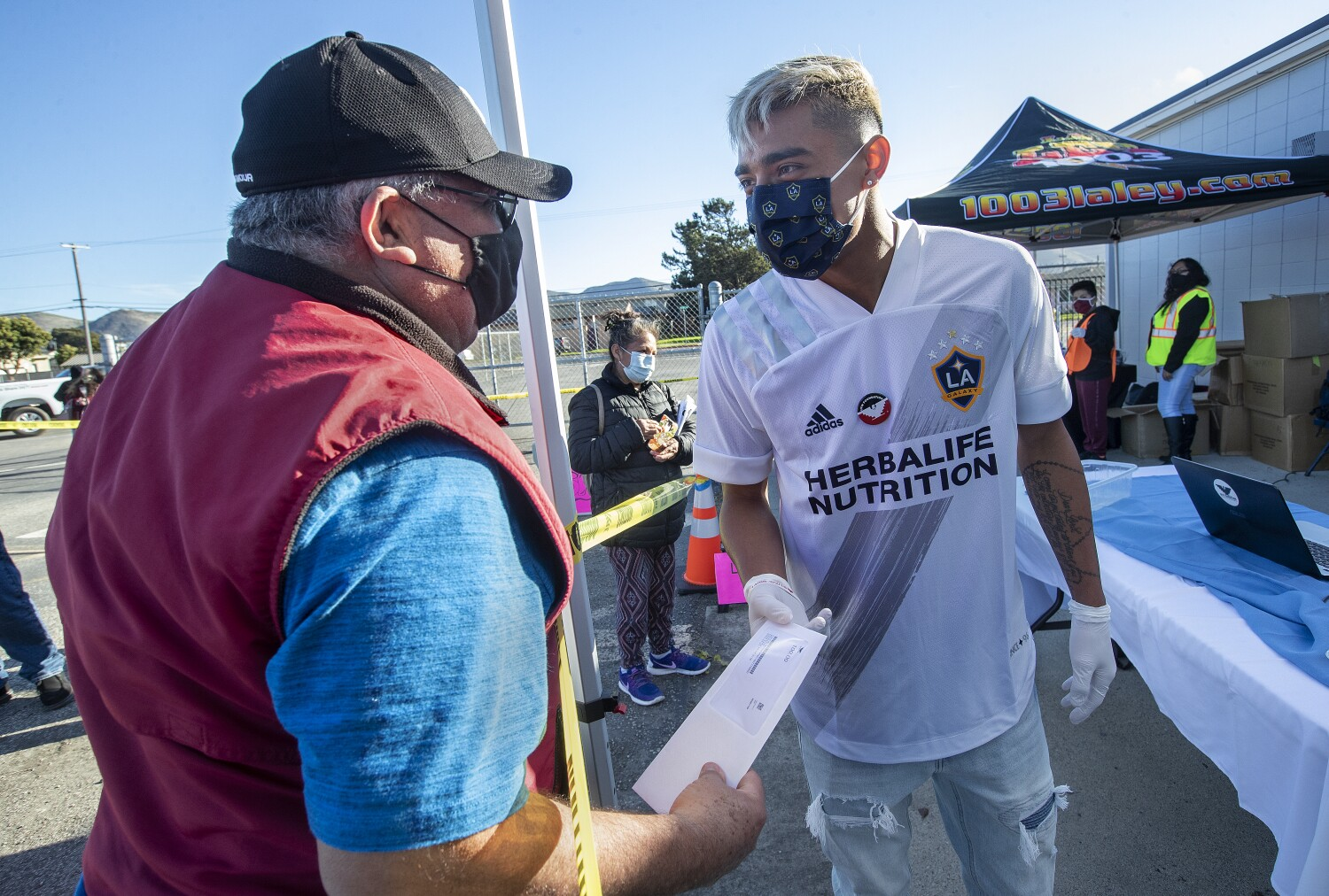 How one Galaxy player is cultivating compassion in the fields of Lompoc