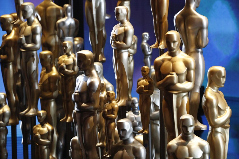 Oscar decor during the telecast of the 88th Academy Awards on Sunday, February 28, 2016 at the Dolby Theatre at Hollywood & Highland Center in Hollywood, CA.