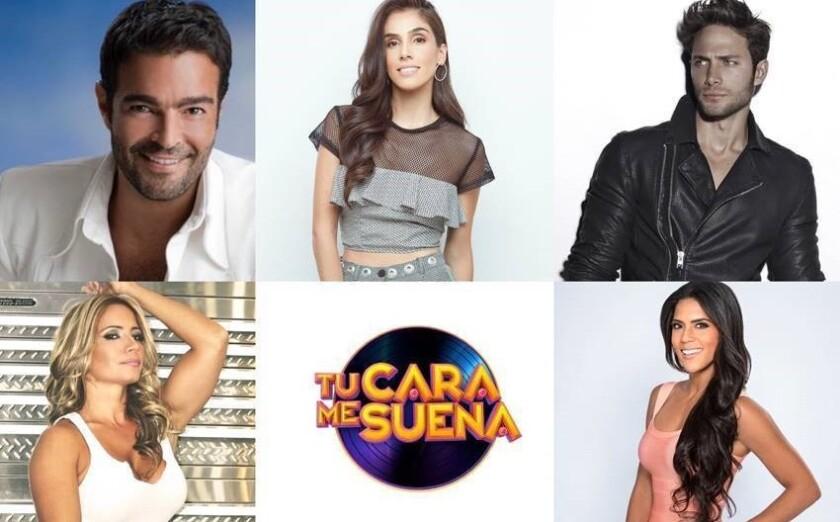 El programa 'Tu cara me suena' comenzará el domingo 4 de octubre por Univision
