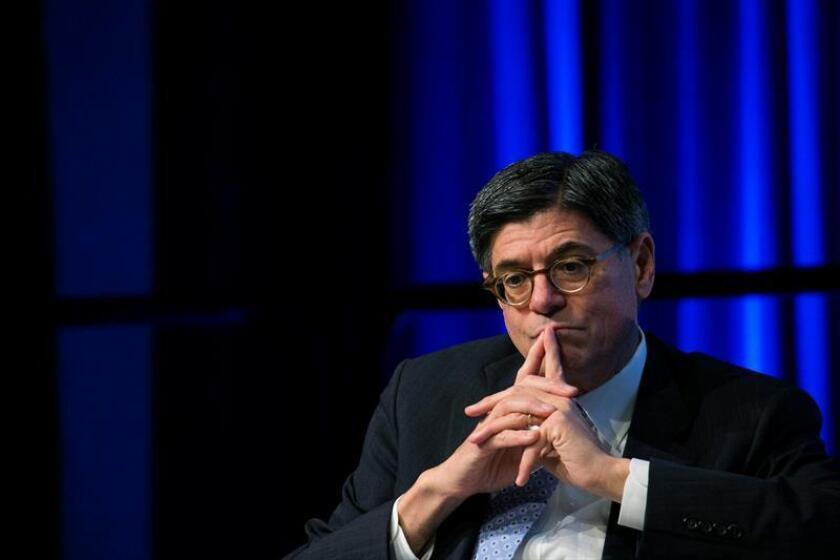 El secretario del Tesoro de EEUU, Jacob Lew. EFE/Archivo