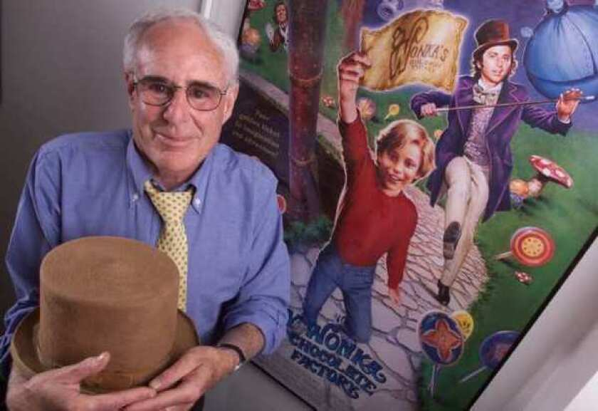"""Mel Stuart, director of """"Willy Wonka and the Chocolate Factory,"""" in June 2001."""