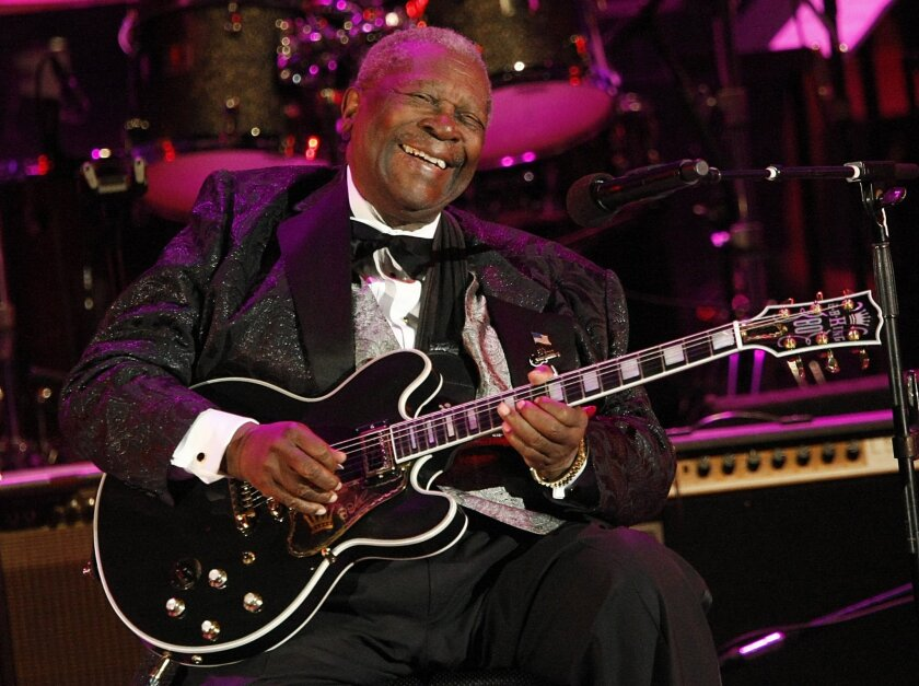 B.B. King performs at the Hollywood Bowl on June 20, 2008