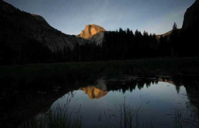 A particularly serene moment in Yosemite Valley