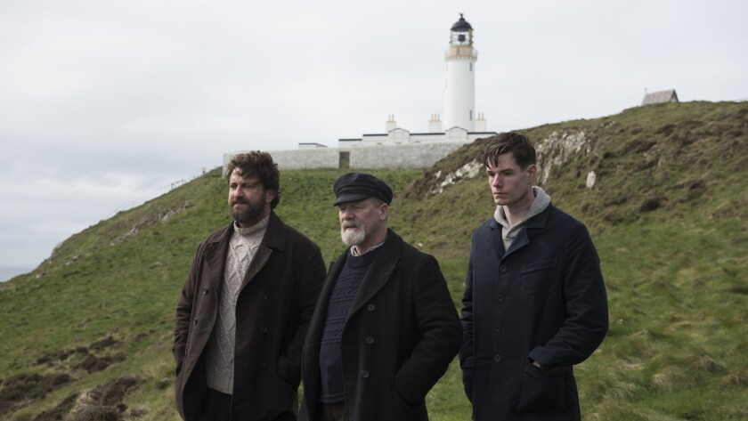"(L-R) - Gerard Butler, Peter Mullan and Connor Swindells in a scene from ""The Vanishing,"" directed"