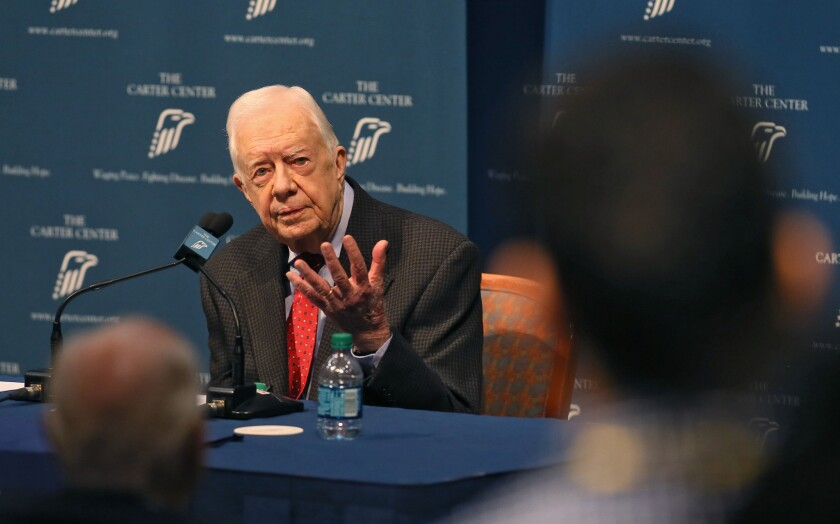Jimmy Carter has one very big regret. Most presidents are right there with him.