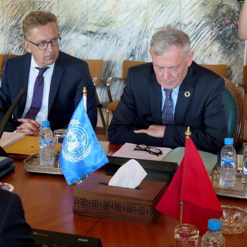 El enviado de la ONU para el Sáhara Occidental, Horst Köhler, quiere reunir a las partes antes de final de año, dijeron hoy fuentes diplomáticas. EFE/ARCHIVO