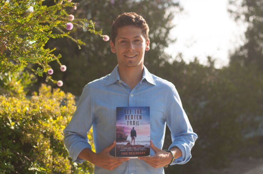 """Jake Heilbrunn's new book """"Off the Beaten Trail"""" is available on amazon.com."""