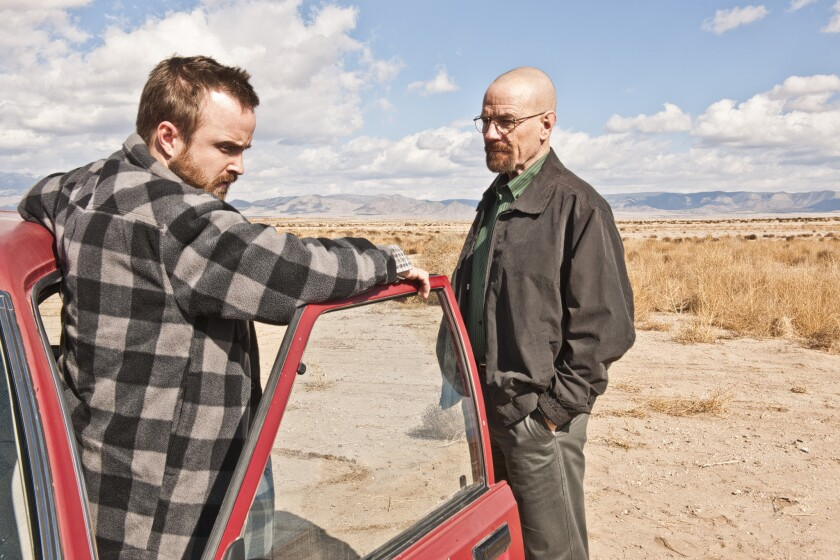 "A scene from ""Breaking Bad."""