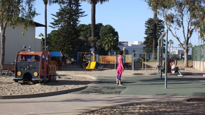The La Jolla Park & Rec Board has a donation commitment of $350,00 to use for a new ADA-compliant playground. Question is: What kind of playscape would best serve the community?