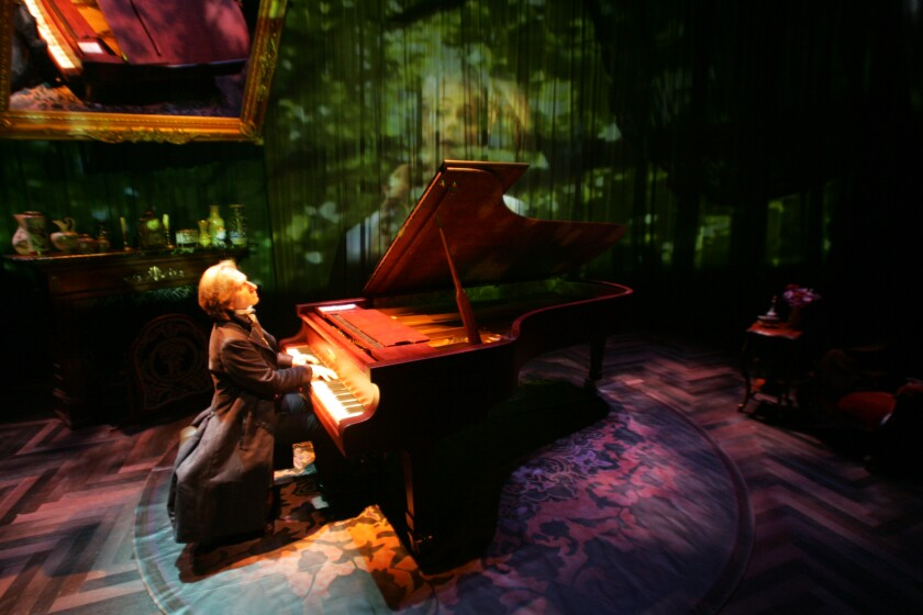 A photo of 'Hershey Felder as Monsieur Chopin'