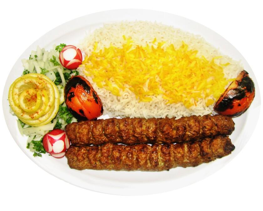 The beef koubideh from Zaytoon.