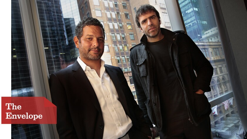 """Alexander Dinelaris and Nicolas Giacobone, writers of """"Birdman"""""""