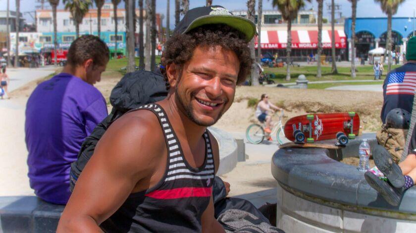 Brendon Glenn lived near the Venice boardwalk and often spent days skateboarding at the skate park b