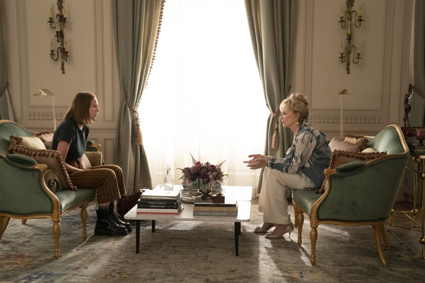 """Hannah Einbinder (left) and Jean Smart star in """"Hacks"""" on HBO Max."""