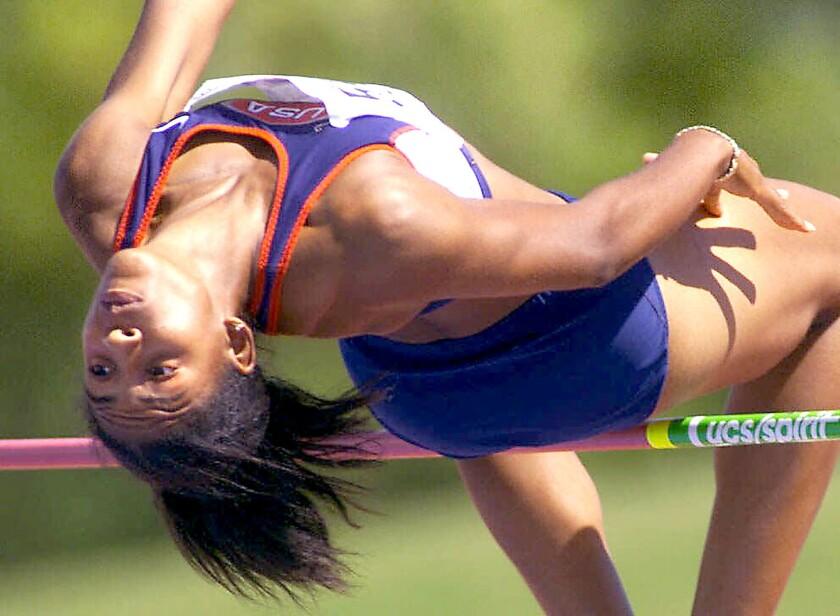 Nicole Haynes high jump