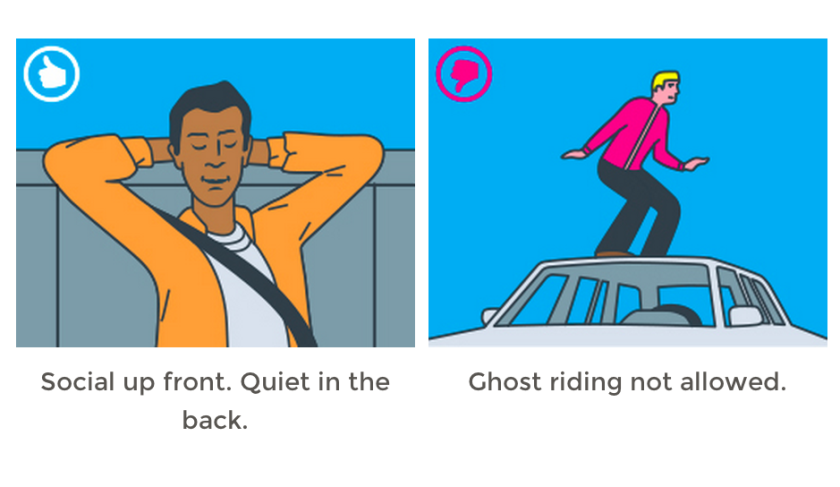 Lyft distances itself from quirky traditions